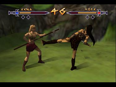 Xena: Warrior Princess: The Talisman of Fate - Screenshot - Gameplay
