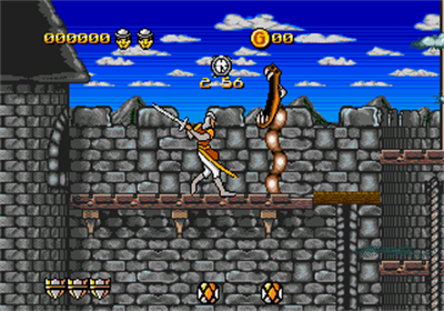 Dragon's Lair: The Adventure Continues - Screenshot - Gameplay