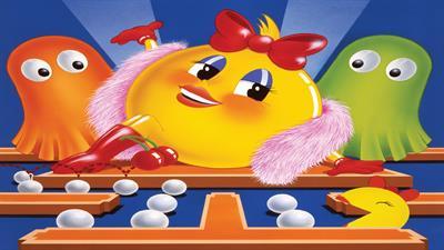 Ms. Pac-Man - Fanart - Background