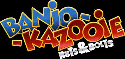 Banjo-Kazooie: Nuts & Bolts - Clear Logo