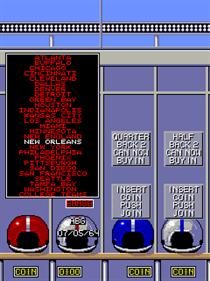 All American Football - Screenshot - Game Select