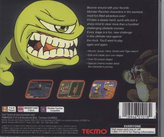 Monster Rancher Hop-A-Bout - Box - Back