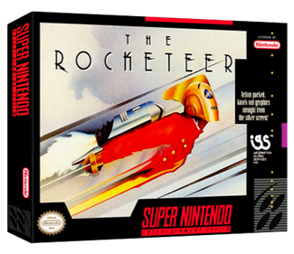 The Rocketeer - Box - 3D