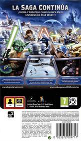 LEGO Star Wars III: The Clone Wars - Box - Back