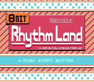 8Bit Rhythm Land - Screenshot - Game Title
