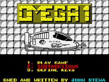 Omega One - Screenshot - Game Title