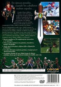 Maximo: Ghosts to Glory - Box - Back