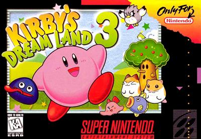 Kirby's Dream Land 3 - Box - Front - Reconstructed