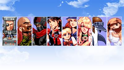 Aero Fighters 2 - Fanart - Background
