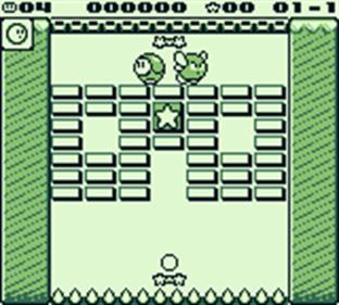 Kirby's Block Ball - Screenshot - Gameplay