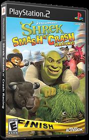 Shrek Smash n' Crash Racing - Box - 3D