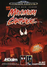 Spider-Man • Venom: Maximum Carnage - Box - Front