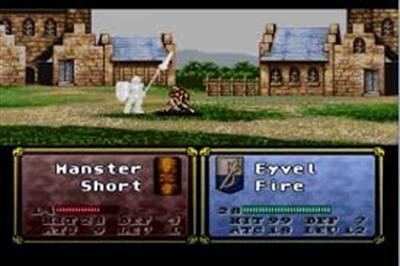 Fire Emblem: Thracia 776 - Screenshot - Gameplay