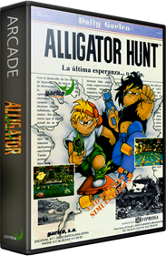 Alligator Hunt - Box - 3D