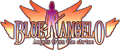 Blue Angelo: Angels from the Shrine - Clear Logo