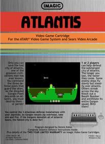 Atlantis - Box - Back