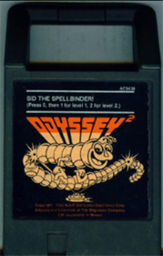 SID the Spellbinder - Cart - Front