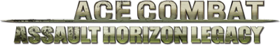 Ace Combat: Assault Horizon Legacy - Clear Logo