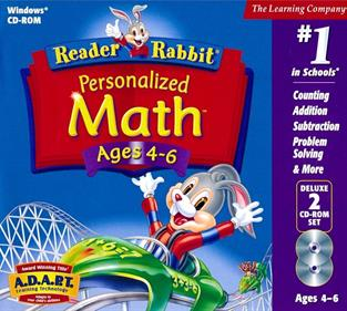 Reader Rabbit Personalized Math Ages 4-6