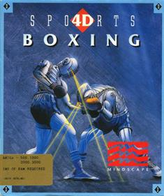 4D Sports Boxing - Box - Front