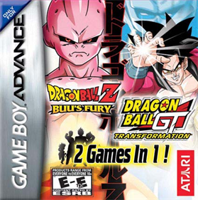 2 Games in 1!: Dragon Ball Z: Buu's Fury + Dragon Ball GT: Transformation