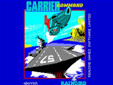 Carrier Command - Screenshot - Game Title