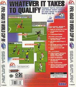 FIFA: Road to World Cup 98 - Box - Back
