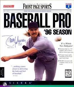 Front Page Sports: Baseball Pro '96 Season