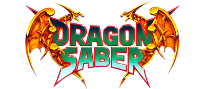 Dragon Saber - Clear Logo
