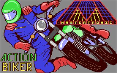 Action Biker - Screenshot - Game Title
