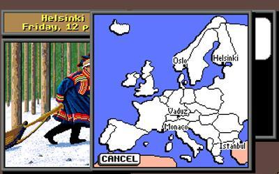 Where in Europe is Carmen Sandiego? - Screenshot - Gameplay