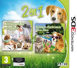 2in1: My Vet Practice 3D: In the Country + My Baby Pet Hotel 3D