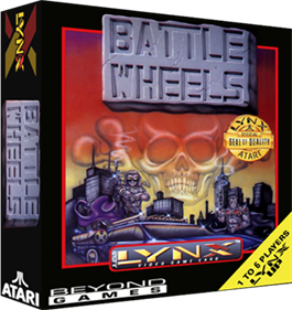 Battle Wheels - Box - 3D