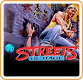 3D Streets of Rage - Box - Front
