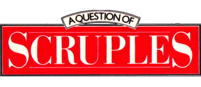A Question of Scruples: The Computer Edition - Clear Logo