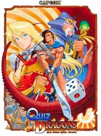 Quiz & Dragons: Capcom Quiz Game - Advertisement Flyer - Front