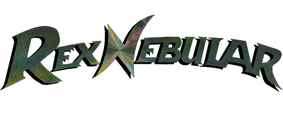 Rex Nebular and the Cosmic Gender Bender - Clear Logo