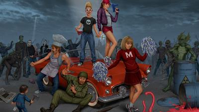 Zombies Ate My Neighbors - Fanart - Background