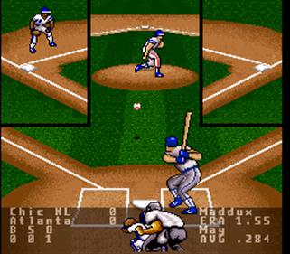 Super R.B.I. Baseball - Screenshot - Gameplay