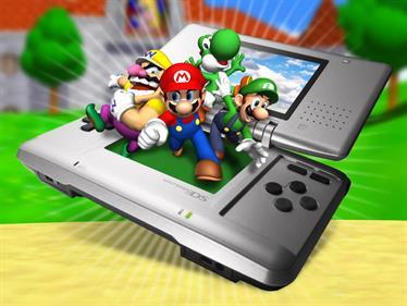 Super Mario 64 DS - Fanart - Background