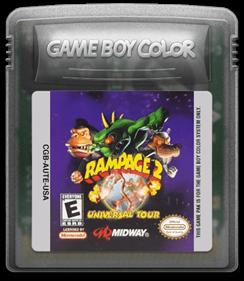 Rampage 2: Universal Tour - Fanart - Cart - Front
