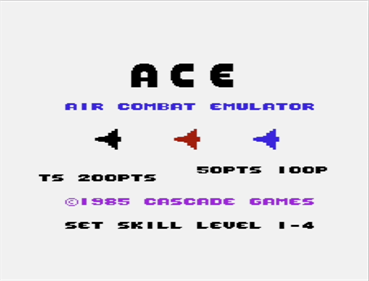 ACE: Air Combat Emulator - Screenshot - Game Title