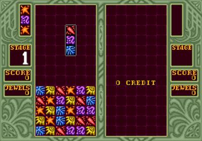 Columns II: The Voyage Through Time - Screenshot - Gameplay