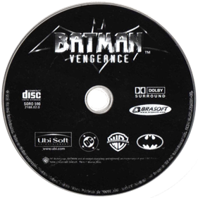 Batman Vengeance - Disc