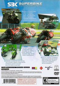 SBK Superbike World Championship - Box - Back