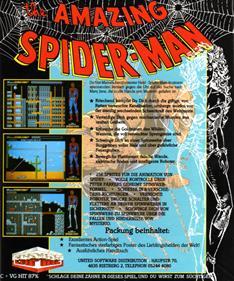 The Amazing Spider-Man - Box - Back