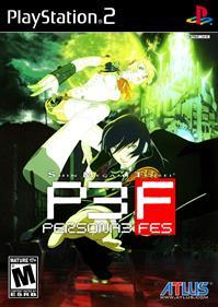 Shin Megami Tensei: Persona 3 FES - Fanart - Box - Front