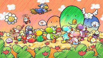 Yoshi's Island DS - Fanart - Background