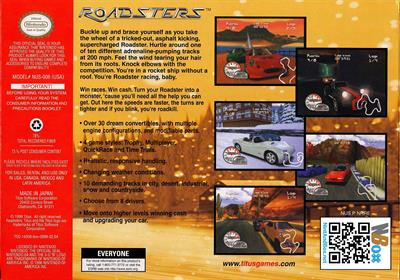 Roadsters - Box - Back
