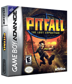 Pitfall: The Lost Expedition - Box - 3D
